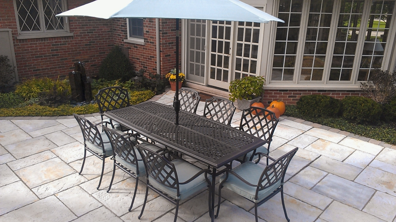 South Barrington Dining Room Project: Poul's Landscaping